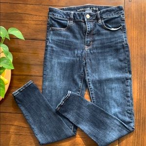 AMERICAN EAGLE next level stretch jegging EUC